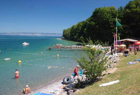 St. Disdille Strand 200 m - (Frankreich, Schweiz, Campingplatz)
