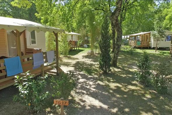 Mobilheime - (Frankreich, Schweiz, Campingplatz)