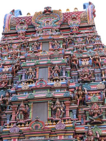 Sri Mariamman Temple, Silom Rd. - (Sehenswürdigkeiten, Unterkunft, Bangkok)