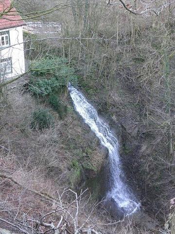 Wasserfall bei Langenfeld Süntel  - (Deutschland, Natur, NRW)