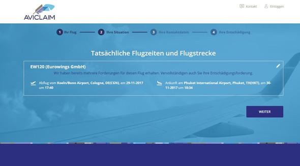 - (Flugreise, Verspätung, Eurowings)