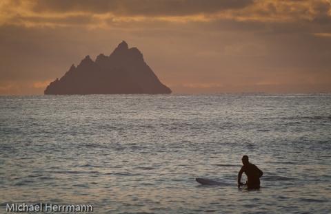 Surfer St.Finians Bay und Skelligs - (Rundreise, Reisezeit, Irland)