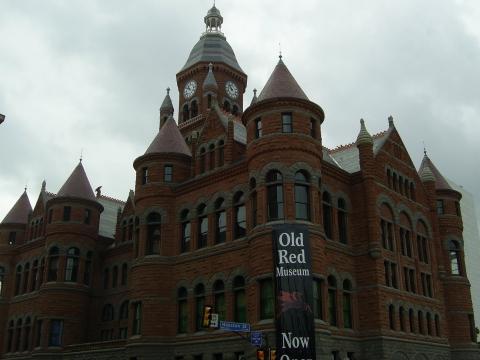 Old Red Museum - (USA, Amerika, Besichtigung)