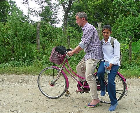 Bilduntertitel eingeben... - (Reise, Asien, Fahrrad)