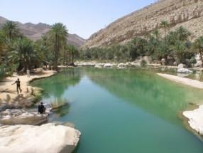 Wunder in der Wüste - Wadi Bani Khaled - (Urlaub, Strandurlaub, Herbst)
