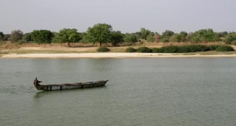 Pirogge auf dem Tschadsee - (Afrika, Rucksackreise, Kamerun)