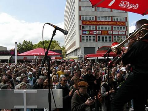 Dixieland auf der Prager Straße - (Deutschland, Kultur, Reisezeit)