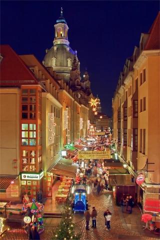 Weihnachtsmarkt in der Münzgasse (c) J. Zschekel - (Deutschland, Kultur, Reisezeit)