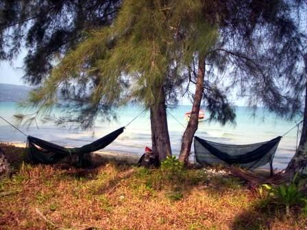 Unser Schlafplatz - (Kambodscha, Sihanoukville)