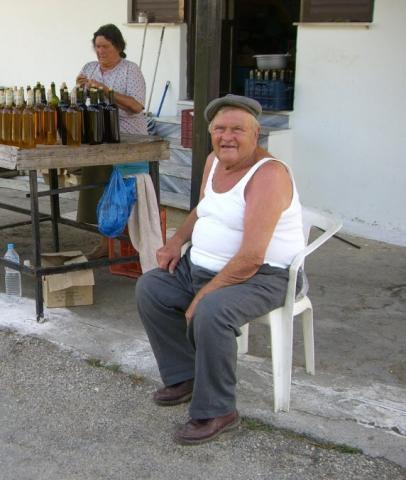 Olivenölverkauf Korfu - (Europa, Strand, Griechenland)