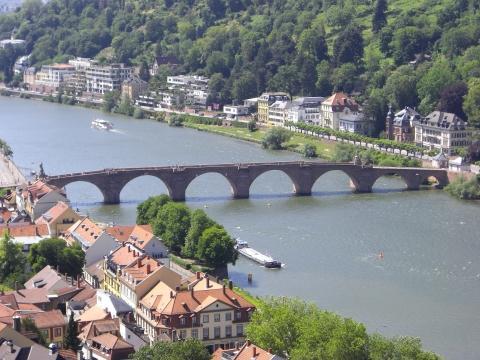 Heidelberg - (Deutschland, Heidelberg, Aussicht)