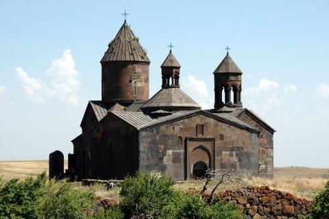 Das Kloster Saghmosavank - (Reise, Sehenswürdigkeiten, Armenien)