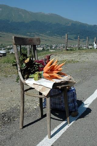 Ein 'Gemüseladen' - (Reise, Sehenswürdigkeiten, Armenien)