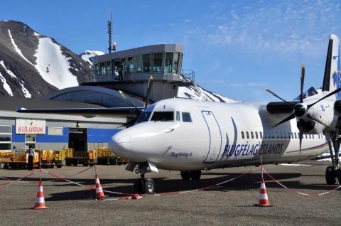 Ankunft am Airport von Kulusuk - (Island, Grönland, Reykjavik)