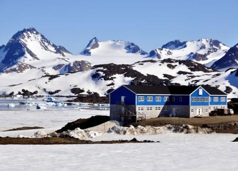 Das einzige Hotel von Kulusuk - (Island, Grönland, Reykjavik)
