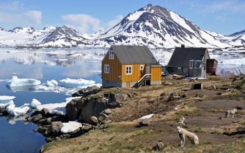 In Kulusuk - (Island, Grönland, Reykjavik)