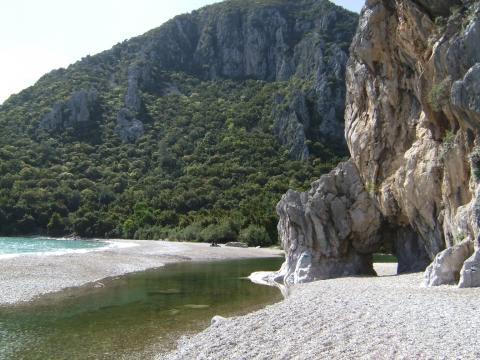 Strand von Olympos - (Strand, Türkei, Strandurlaub)