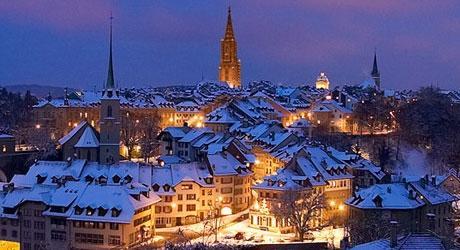 Bern im Winter - (Europa, Städtereise, Stadt)