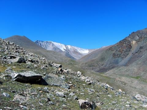 Im Altai - (Asien, reiten, Mongolei)