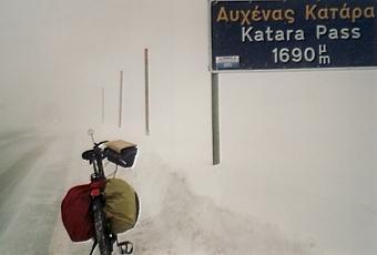 Meine Wintertour durch das verschneite Griechenland - (Deutschland, Europa, Sport)