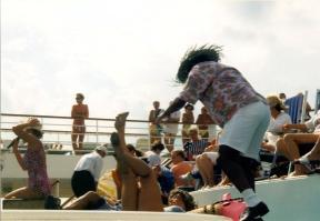 keine Langeweile - (Kreuzfahrt, Schiffsreise)