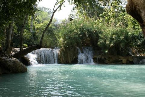 Wasserfälle bei Luang Prabang - (Sehenswürdigkeiten, Laos, Top Ten)