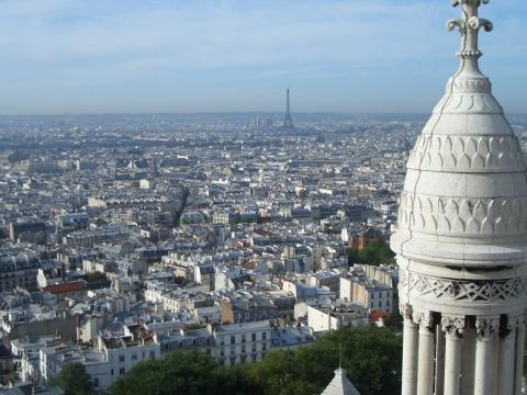 Blick über Paris - (Frankreich, Sehenswürdigkeiten, Paris)