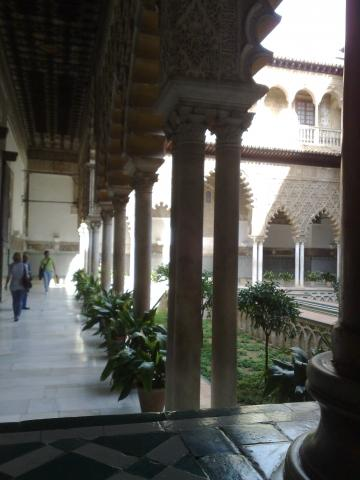 Alcazar Sevilla - (Europa, Spanien, Städtereise)