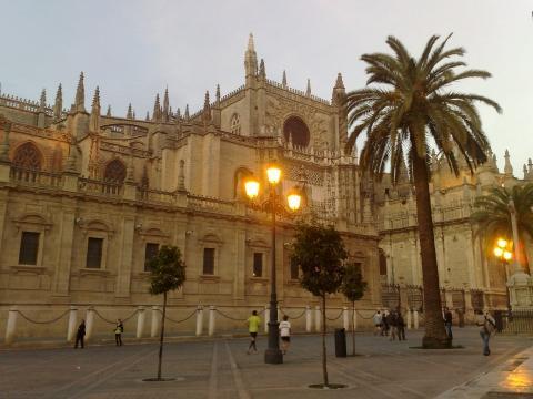 Kathedrale Sevilla - (Europa, Spanien, Städtereise)
