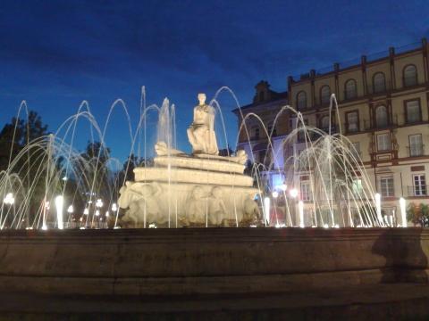 Brunnen Sevilla - (Europa, Spanien, Städtereise)