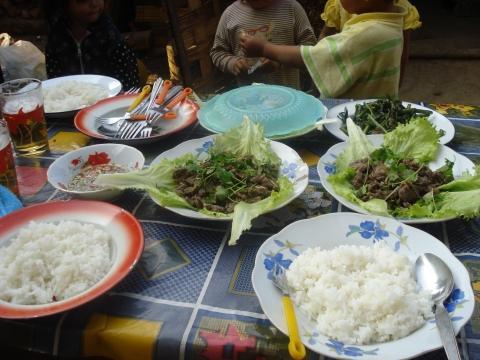das Mittagessen - (Reise, Asien, Thailand)