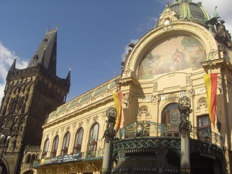 Prag Konzerthalle - (Deutschland, Stadt, Wochenende)