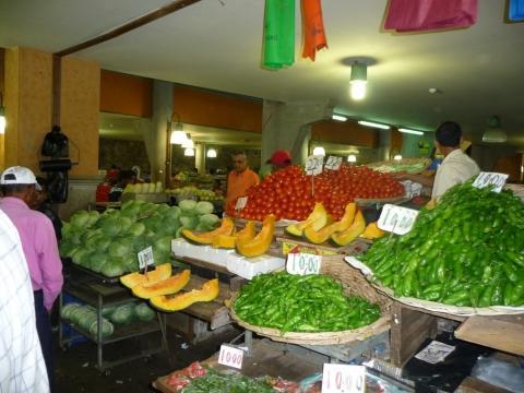 Markt in Port Louis - (Insel, Markt, Indischer Ozean)