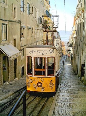 Elevador - (Sehenswürdigkeiten, Portugal, Lissabon)