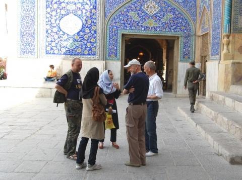 Bilduntertitel eingeben... - (Iran, Islam, Kopftuch)