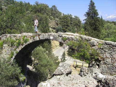 Köprülü Canyon-Paulus Brücke - (Türkei, Wildwasser, Köprüay)