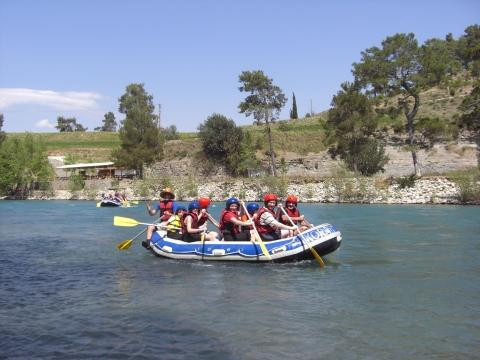 Köprülü Canyon-Rafting - (Türkei, Wildwasser, Köprüay)