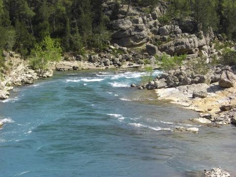 Köprülü Canyon - (Türkei, Wildwasser, Köprüay)