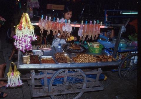 Essenstand in Thailand - (Europa, Essen, Küche)