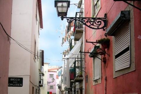 Blick von unserer Ferienwohnung in Lissabon letztes Jahr - (Portugal, Lissabon, Mai)