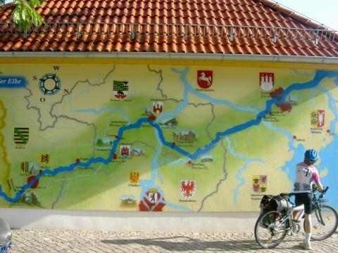Elberadweg Übersicht - (Deutschland, Reiseziel, Radtour)