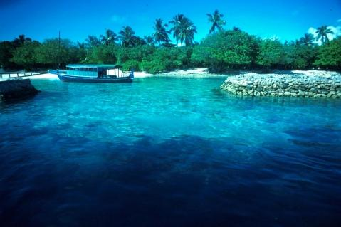 Ellaidhoo Anfahrt - (Insel, Malediven, Schnorcheln)